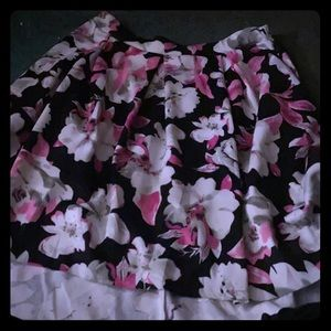 Dresses & Skirts - Plus Size High Low formal floral skirt